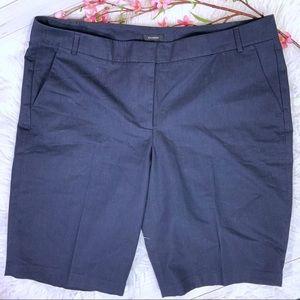 Halogen bermuda shorts size 16